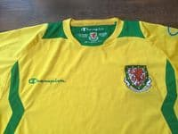 Classic Football Shirts | 2008 Wales Vintage Old Soccer Jerseys